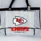 Kansas City Chiefs Clear Bag Tote Messenger Bag NFL