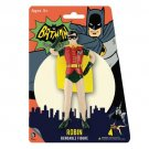 Batman Classic TV Series Robin 5 1/2-Inch Bendable Figure