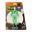 Batman Classic TV Series The Riddler 5 1/2-Inch Bendable Figure
