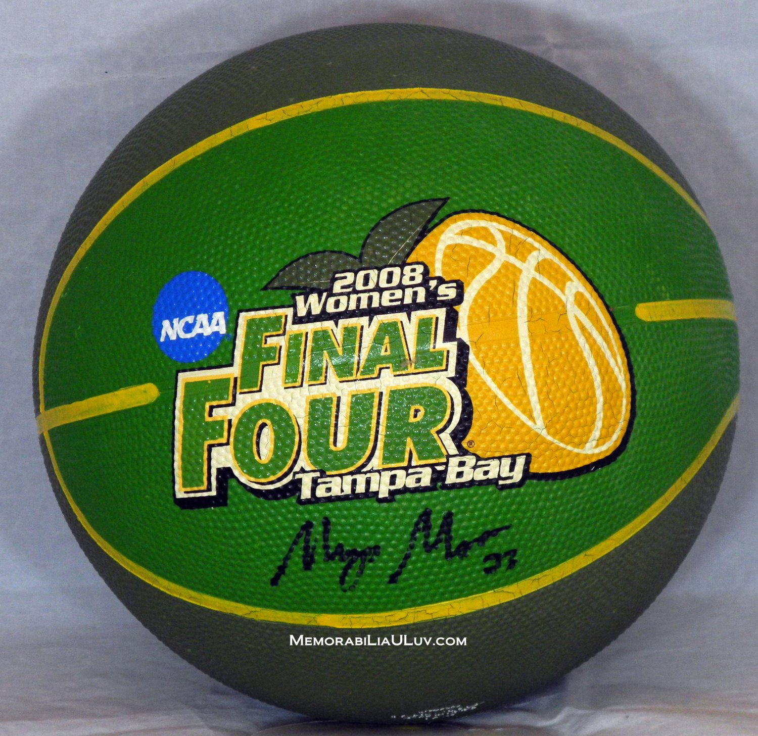 Maya Moore Signed 2008 Women�s Final Four Basketball NCAA WNBA