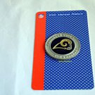 St Louis Rams NFL Challenge Coins Poker Chip