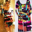 M Fashion Women Ladies Sexy Clubwear Mini Dresses Spring Autumn Long Sleeve Figure Tight Wholesale