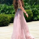 Pink New Arrival Women Ladies Swing Expansion Skirts Bottom Beach Maxi Long Full Wholesale