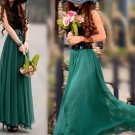Green New Arrival Women Ladies Swing Expansion Skirts Bottom Beach Maxi Long Full Wholesale