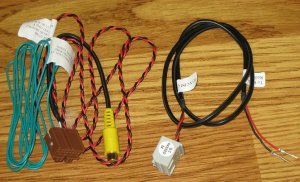 2007-2011 GM GMC CHEVY TAHOE YUKON SILVERADO NAVIGATION VSS VOICE WIRING HARNESS