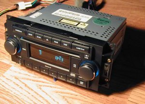 DODGE RAM CHRYSLER 300 RADIO CD PLAYER IPOD AUX / MP3 INPUT 3.5mm PT CRUISER
