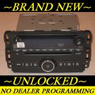 NEW~ UNLOCKED~OEM 2006-09 CHEVY MONTE CARLO CD Radio 3.5mm Aux/Ipod input &MP3