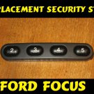 New Ford Focus Security Bar / Pen Strip Cd radio removable REPLACEMENT Buttons