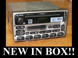 FORD CD TAPE PLAYER RADIO STEREO F150 EXPLORER RANGER