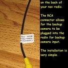 NEW GMC SIERRA YUKON RCA PLUG for adding NAVIGATION Backup cam / CAMERA