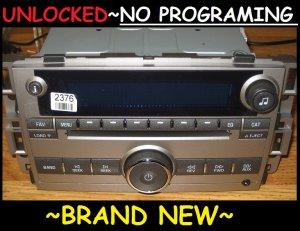 NEW UNLOCKED 2007-10 BUICK LUCERNE 6 CD CHANGER Radio 3.5mm Aux/Ipod input