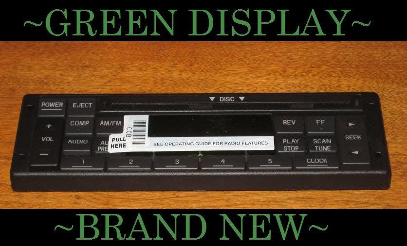 1988-1997 FORD F150 T-BIRD CD PLAYER RADIO FACEPLATE