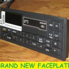 1988-1999 FORD Tbird MUSTANG F150 TAPE CASSETTE RADIO FACEPLATE & Buttons