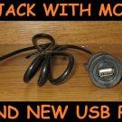 DASH MOUNT Chevy GMC Cadillac USB input Harness/Cable for USB Radio/Navigation