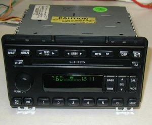 FORD 6 DISC IN DASH CD PLAYER CHANGER RADIO EXPLORER