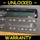 UNLOCKED OEM 02-03 CHEVY Envoy Trailblazer Radio CD Player Stereo RDS
