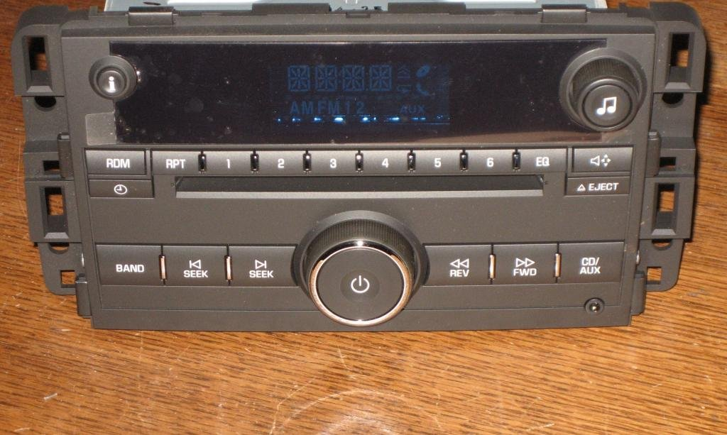 Used Chevy Tahoe >> NEW OEM 07-2013 GMC Chevy Express Silverado TRUCK W/T CD Radio AUX 3.5 MP3 input