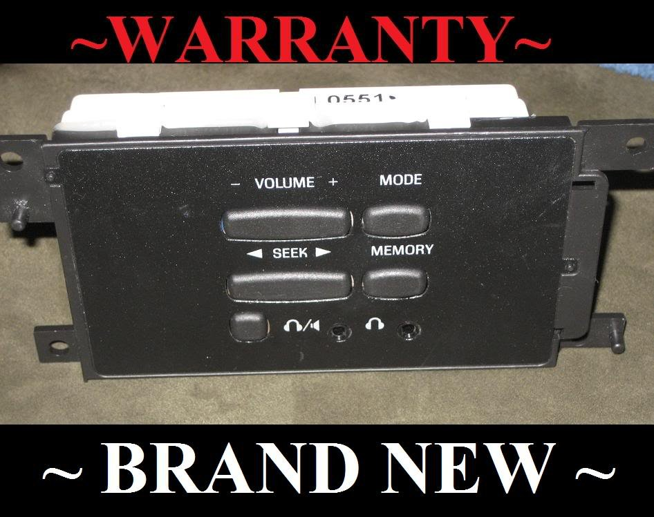 What Stores Accept Paypal Credit >> BRAND NEW OEM REPLACEMENT 2000-2001 FORD EXPEDITION REAR RADIO AUDIO CONTROLS