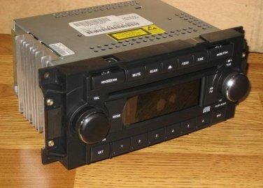 NEW JEEP CHRYSLER DODGE RAM DAKOTA CALIBER DURANGO 300 CD RADIO OEM PLUG &PLAY