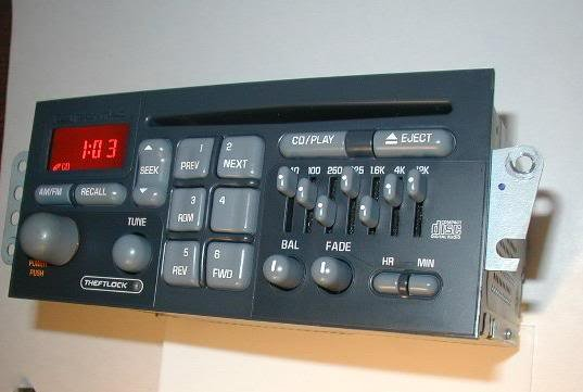1990 chevy stereo wiring 2000 2003 pontiac grand prix delco cd radio    stereo    with  2000 2003 pontiac grand prix delco cd radio    stereo    with