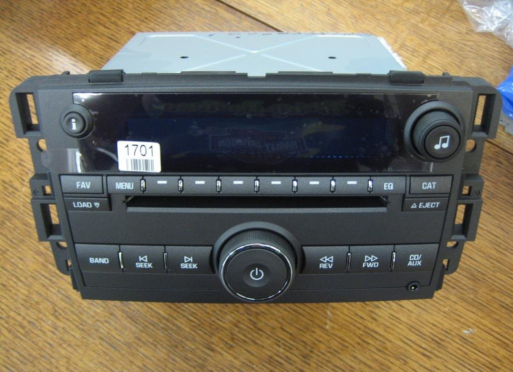 NEW UNLOCKED Buick Lucerne 6 Cd Changer Player Radio AUX IPOD 3.5mm MP3 INPUT