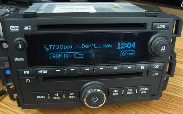 radio silverado 2007 gm chevy tahoe gmc dvd sierra yukon cd unlocked radios mp3 oem replacement parts ford oemradios