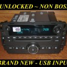 NEW 2009-2014 Chevy TAHOE Silverado W/T GMC SIERRA CD Radio USB & MP3 Input UQ3