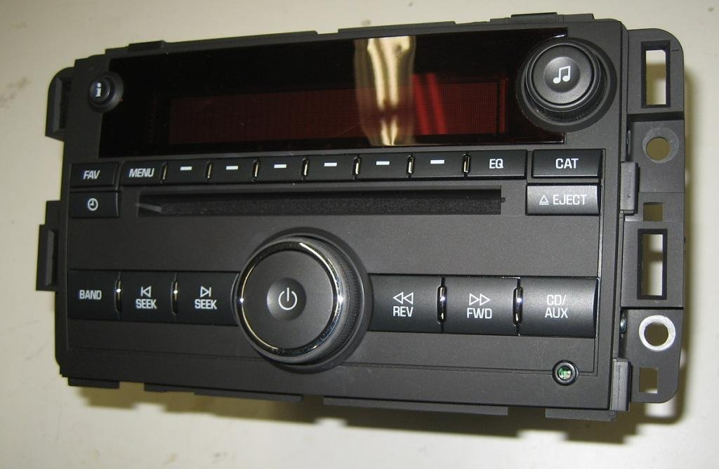 How To Unlock Steering Wheel >> PLUG&PLAY OEM 07-08-09 GMC Acadia CD Radio MP3/Aux/Ipod ...