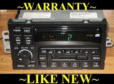 MINT 1995-2002 BUICK Park Ave ROADMASTER REGAL CD CASSETTE RADIO