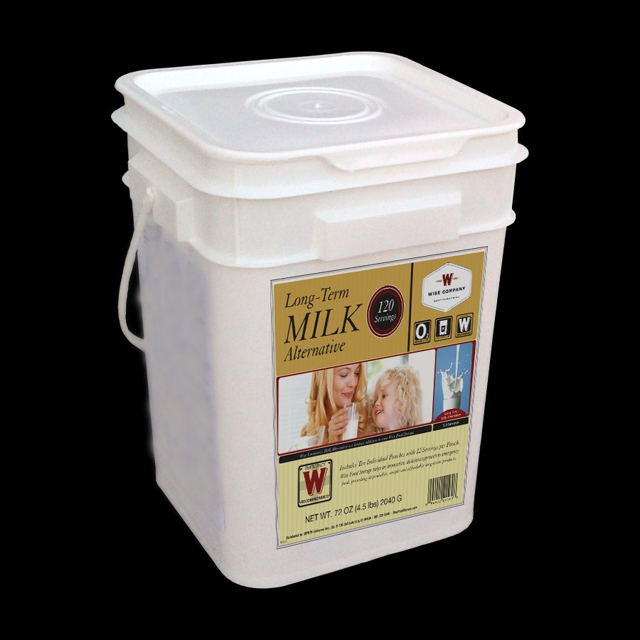 *NEW* Wise Food: 120 Serving Milk Bucket ~ Just Add Water