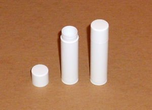 50 Empty White LIP BALM Chapstick Tubes containers W/ SHRINK BANDS AND 2 TENTS!