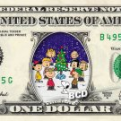 A Charlie Brown Christmas ( Snoopy ) on Dollar Bill Collectible Cash Money
