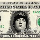 EMINEM on REAL Dollar Bill - Collectible Celebrity Cash Money Art