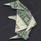 Money Origami PENGUIN - Dollar Bill Art - Made with real $1.00 Cash