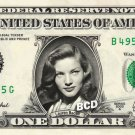 LAUREN BACALL on REAL Dollar Bill - Spendable Cash Collectible Celebrity Money