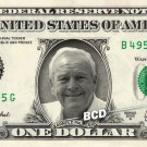 ARNOLD PALMER on REAL Dollar Bill Spendable Cash Celebrity Money Mint