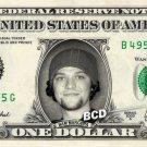 BAM MARGERA on REAL Dollar Bill collectible Cash Money Jackass $1