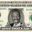 EDDIE MURPHY on REAL Dollar Bill Spendable Cash Celebrity Money Mint