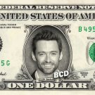 HUGH JACKMAN on REAL Dollar Bill Spendable Cash Celebrity Money Mint