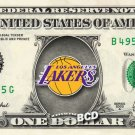 Lakers (Los Angeles) on REAL Dollar Bill Collectible Cash Money