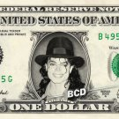 MICHAEL JACKSON on REAL Dollar Bill - Celebrity Collectible Cash - Thriller Time