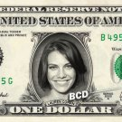 LAUREN COHAN on REAL Dollar Bill Spendable Money Walking Dead - Maggie Greene