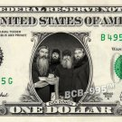 DUCK DYNASTY on REAL Dollar Bill - Celebrity Collectible Custom Cash $1 Mint!