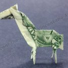 Money Origami HORSE - Dollar Bill Art - Made with $1.00 Cash