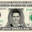 MATTHEW FOX on REAL Dollar Bill Collectible Cash Celebrity Money Mint $1