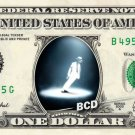 MICHAEL JACKSON REAL Dollar Bill Celebrity Collectible Cash - You are not alone