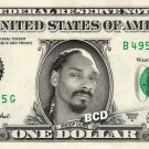 SNOOP DOGG on REAL Dollar Bill - Cash Celebrity Money Art Mint One-of-a-Kind Unique Gift Idea