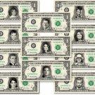 CELEBRITY on REAL Dollar Bill - $1 Celebrities Bill Custom Cash Money V.6
