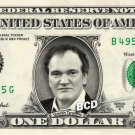 QUENTIN TARANTINO on REAL Dollar Bill Spendable Cash Celebrity Money Mint