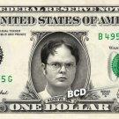 RAINN WILSON The Office on REAL Dollar Bill Spendable Cash Celebrity Money Mint